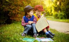 Kindjes die lezen