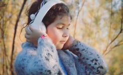 Kind hoofdtelefoon